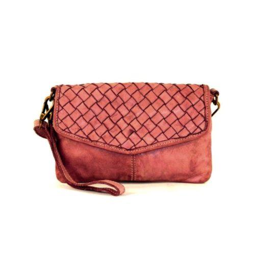 SELENE Wristlet Bag Terracotta