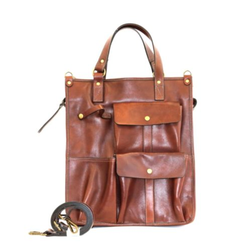 ROBYN Business Bag With Pockets Tan