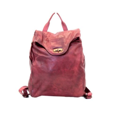 AURORA Backpack With Lock Bordeaux
