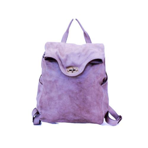 AURORA Backpack With Lock Lilac
