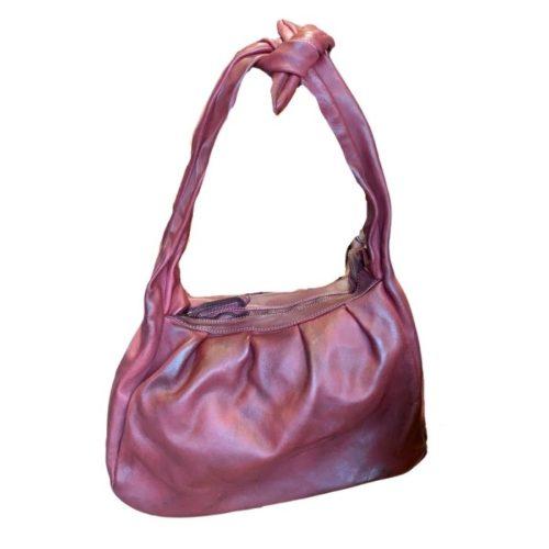 RITA Knot Vintage Style Shoulder Bag Bordeaux