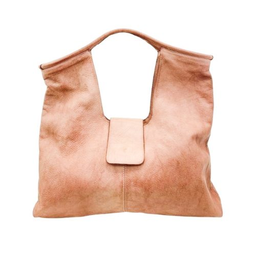 ALESSIA Square Shoulder Bag Blush