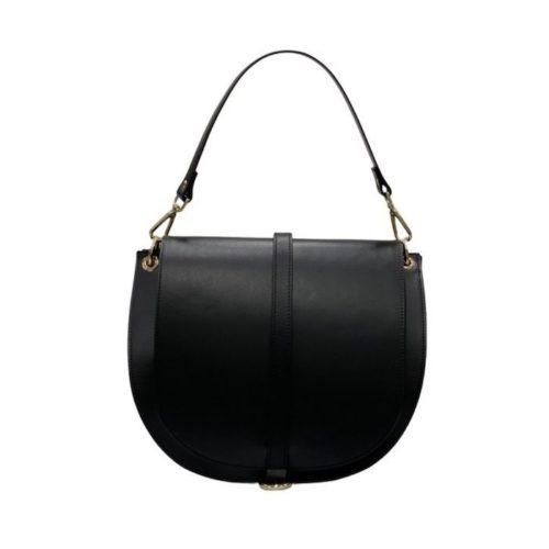VITTORIA Medium Saddle Bag Black