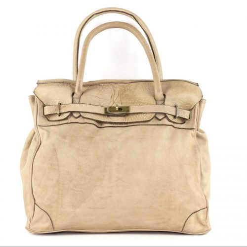 ALICIA Structured Bag Beige