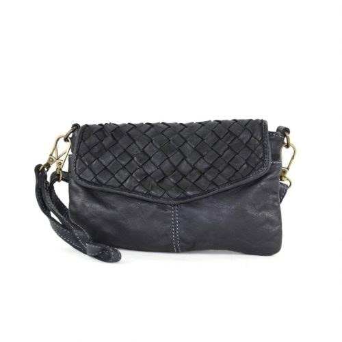 SELENE Wristlet Bag Black