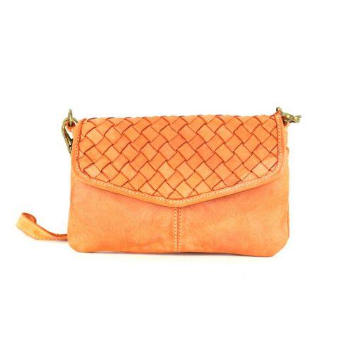 SELENE Wristlet Bag Orange