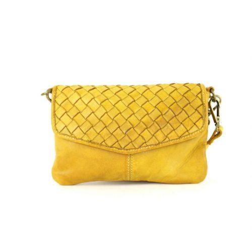 SELENE Wristlet Bag Mustard