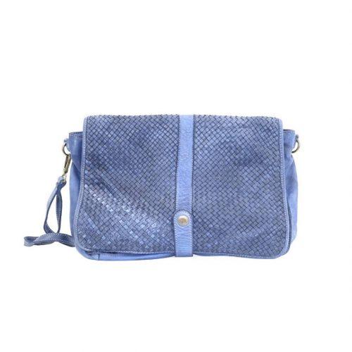 MARTA Messenger Bag Woven Denim