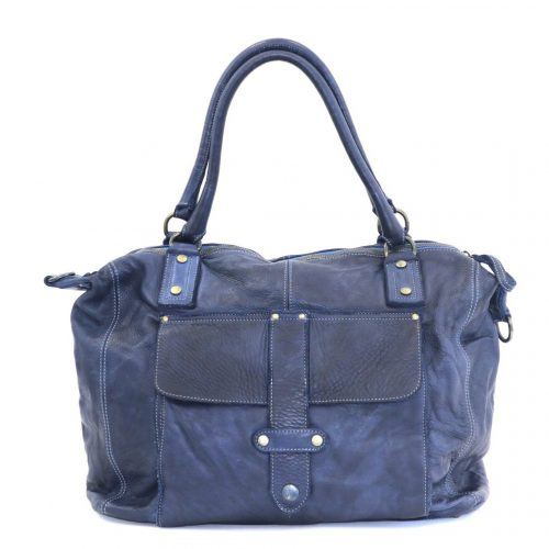ADELE Satchel Style Bag Denim