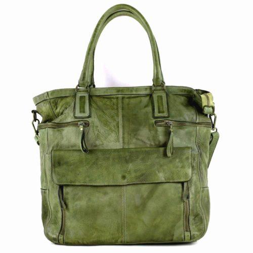 CRISTINA Shopper Army Green