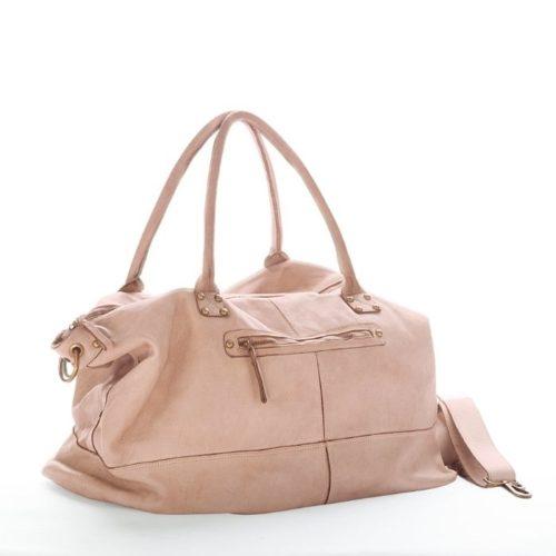 FIONA Large Duffle Weekender Travel Bag Blush