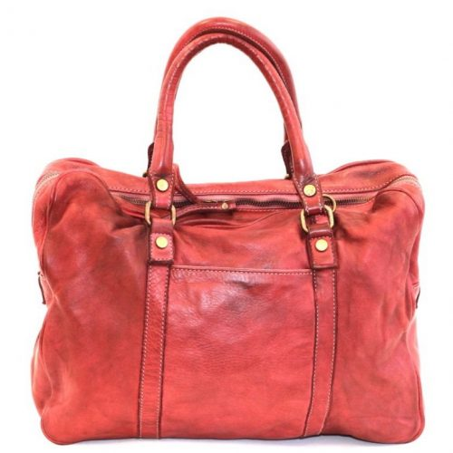 CARLOTTA Laptop Hand Bag Red