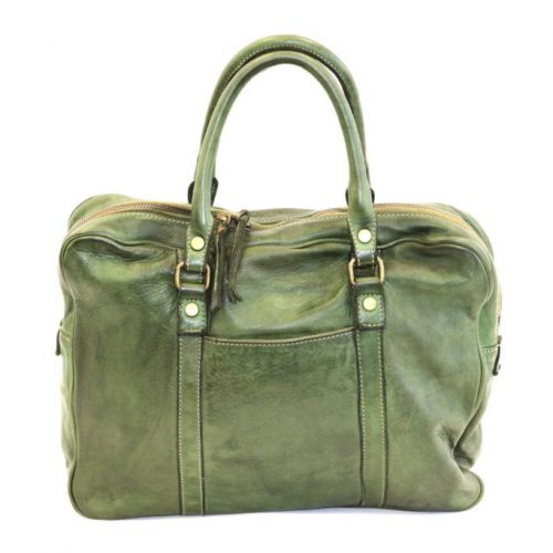 CARLOTTA Laptop Hand Bag Army
