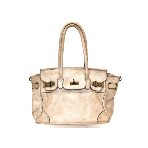 BABY ALICIA Small Structured Bag Beige