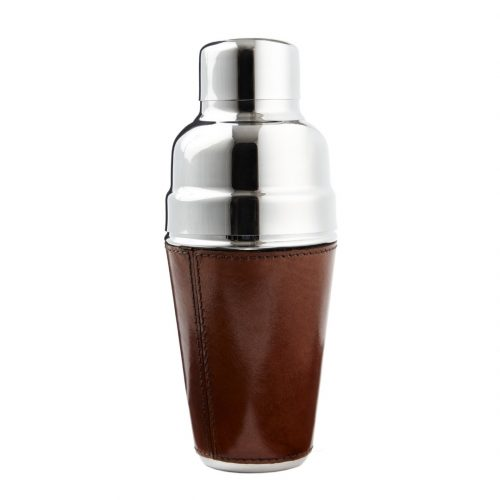 Cocktail Shaker With Leather Base