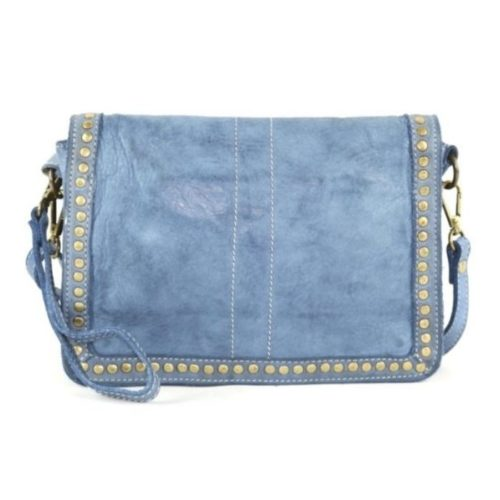 SILVIA Messenger Bag Denim