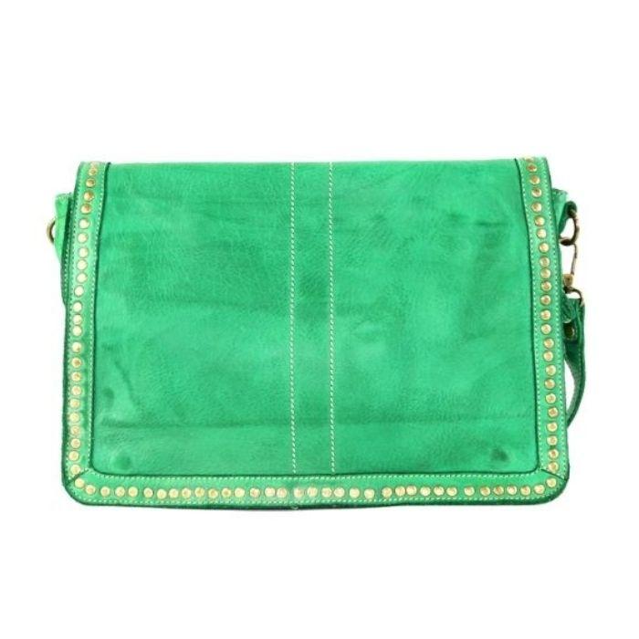 SILVIA Messenger Bag Emerald