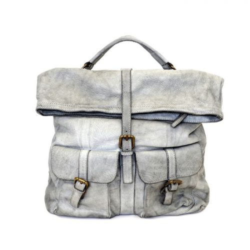 RACHELE Backpack With Two Pockets Light Grey