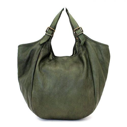 MATILDE Slouchy Hobo Bag Army Green