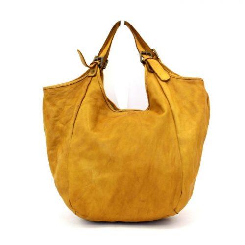 MATILDE Slouchy Hobo Bag  Mustard