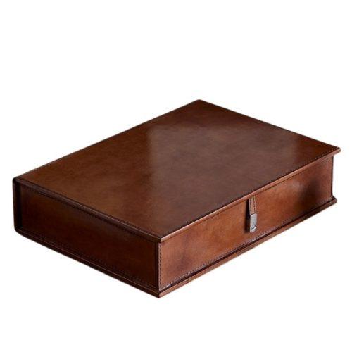 Leather Box File