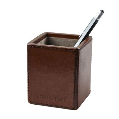 Leather Pen Pot