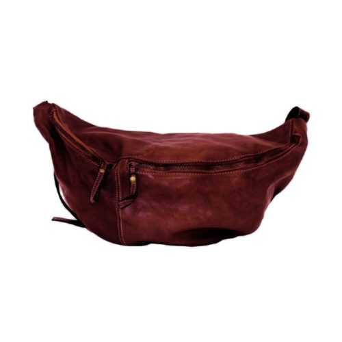LUNA Oversized Crossbody Bumbag Burgundy