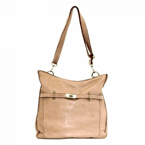 MIRIAM Crossbody Bag With Locket Light Taupe