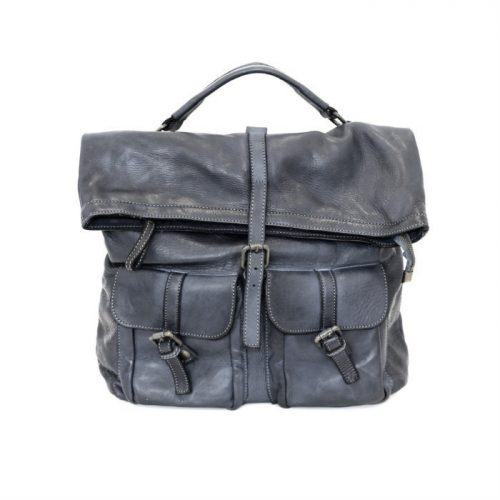 RACHELE Backpack With Two Pockets Dark Grey