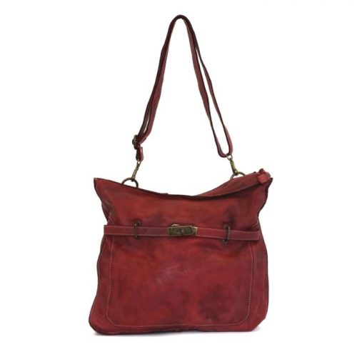 MIRIAM Crossbody Bag With Locket Burgundy