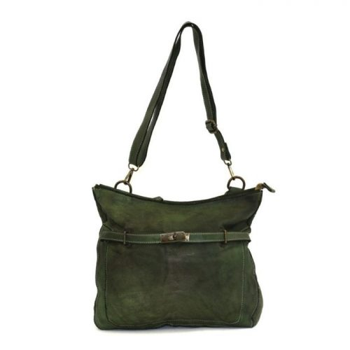 MIRIAM Crossbody Bag With Locket Army Green