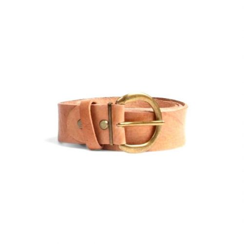 Classic Leather Belt – Tan