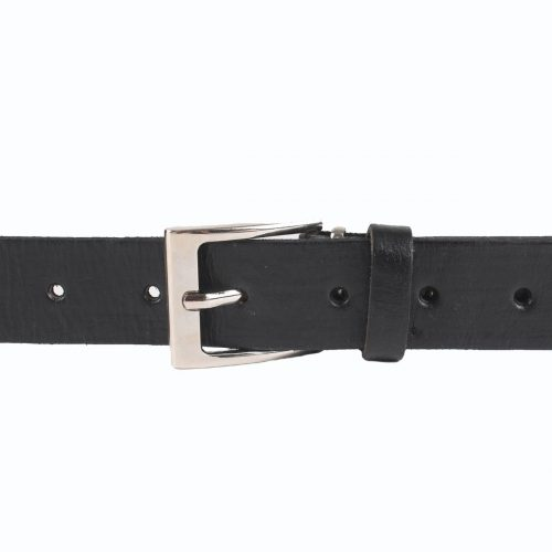 Jeans Leather Belt – Black