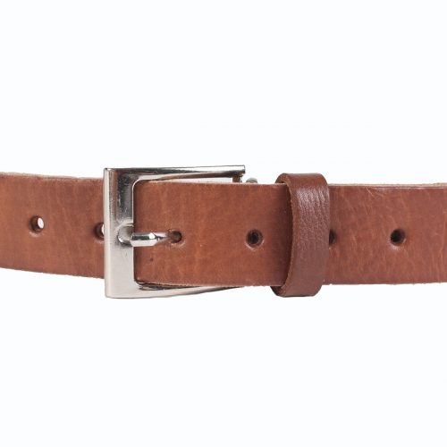 Jeans Leather Belt – Tan