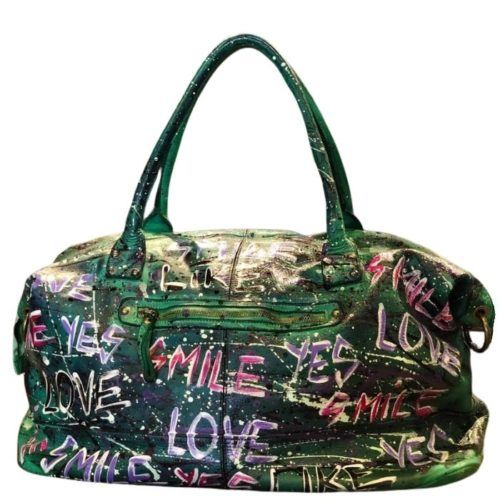 FIONA Large Weekend Bag – Limited Edition – Emerald Green Base