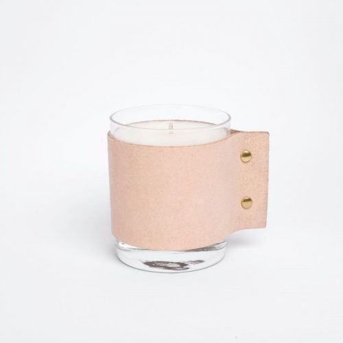 SCENTED CANDLE – Leather And Bergamot