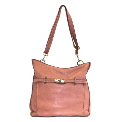 MIRIAM Crossbody Bag With Locket Blush