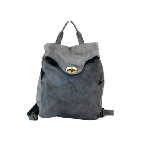 AURORA Backpack With Lock Dark Grey