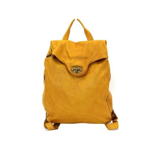 AURORA Backpack With Lock Mustard