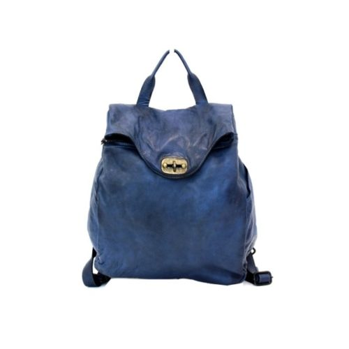 AURORA Backpack With Lock Navy