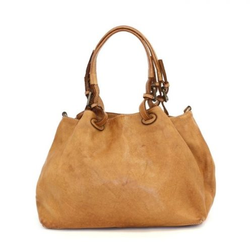 BABY LUCIA Small Tote Bag Smooth Tan