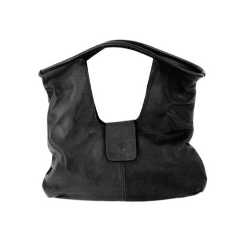 ALESSIA Square Shoulder Bag Black