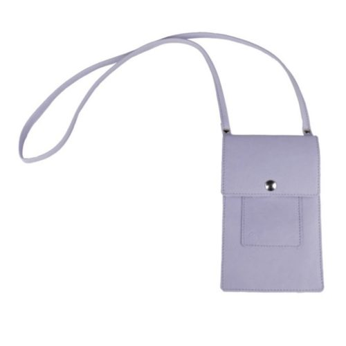Leather Phone Bag Lilac
