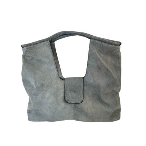 ALESSIA Square Shoulder Bag Grey