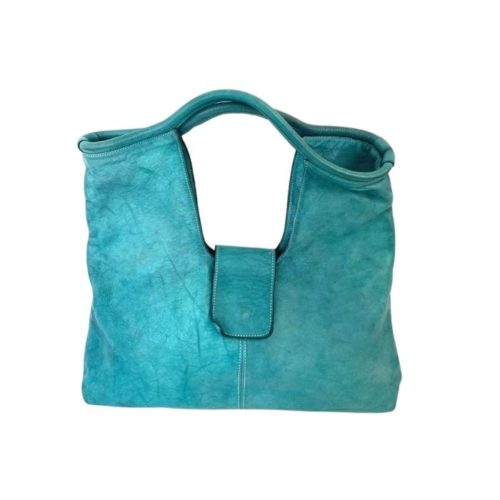 ALESSIA Square Shoulder Bag Teal