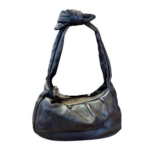 RITA Knot Vintage Style Shoulder Bag Black