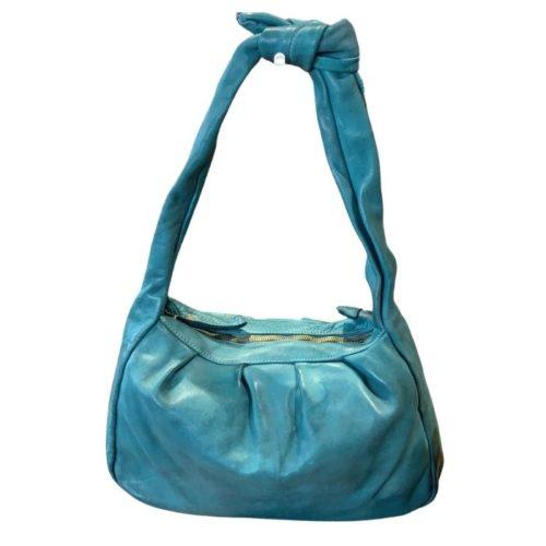 RITA Knot Vintage Style Shoulder Bag Teal