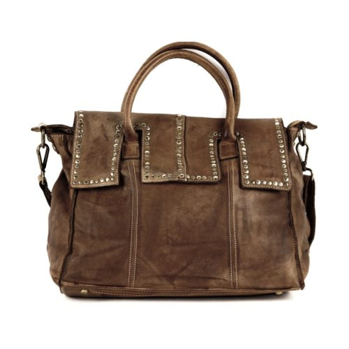 ANITA Hand Bag Dark Brown