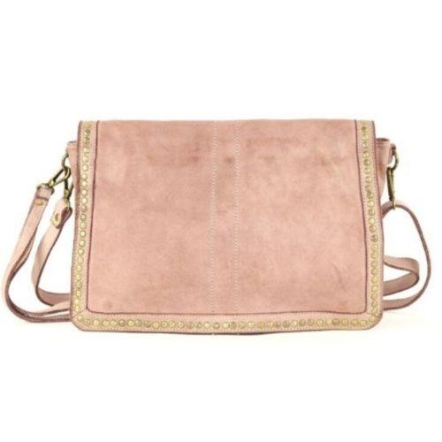 SILVIA Messenger Bag Blush