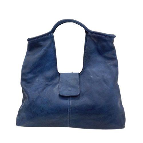 ALESSIA Square Shoulder Bag Navy